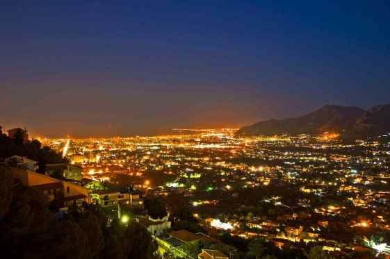 Palermo-at-night
